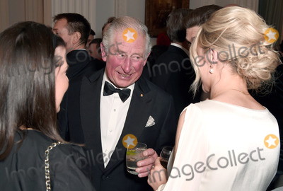 Wale Photo - 12032020 - Prince Charles Prince of Wales attends a dinner in aid of the Australian bushfire relief and recovery effort at Mansion House in London Photo Credit ALPRAdMedia