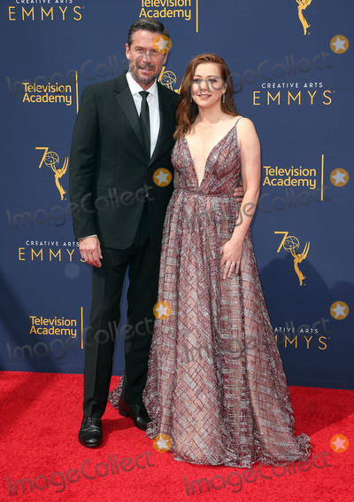 Alyson Hannigan Photo - 08 September 2018 - Los Angeles California - Alexis Denisof Alyson Hannigan 2018 Creative Arts Emmys Awards held at Microsoft Theater Photo Credit F SadouAdMedia