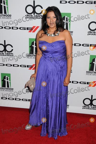 Misty Upham Photo - 21 October 2013 - Beverly Hills California - Misty Upham 17th Annual Hollywood Film Awards Gala held at the Beverly Hilton Hotel Photo Credit Byron PurvisAdMedia