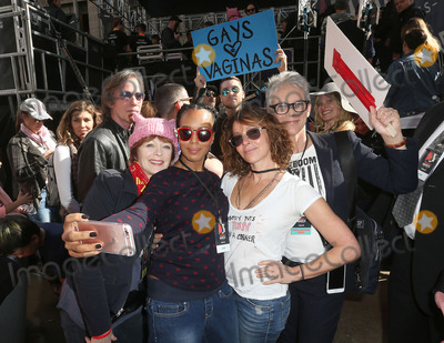 Jamie Lee Curtis Photo - 21 January 2017 - Los Angeles California - Kerry Washington Jennifer Grey Jamie Lee Curtis Womens March in Los Angeles California Photo Credit F SadouAdMedia