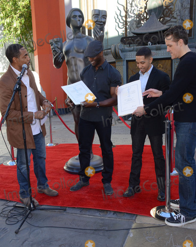 Aldis Hodges Photo - 26 January  - Hollywood Ca - Jason George Aldis Hodge Neil Brown Jr Woody Schultz SAG Awards Actor visits Hollywoods TCL Chinese Theater with SAG Awards nominees Aldis Hodge and Neil Brown Jr held at TCL Chinese Theater  Photo Credit Birdie ThompsonAdMedia