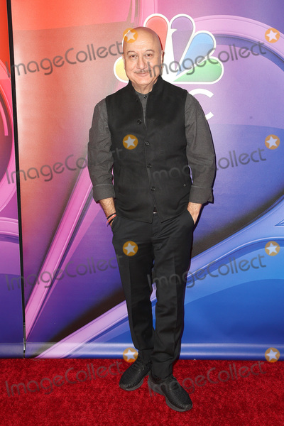 Anupam Kher Photo - 20 February 2019 - Universal City California - Anupam Kher 2019 NBC Los Angeles Mid-Season Press Day held at at NBC Studios Photo Credit Faye SadouAdMedia