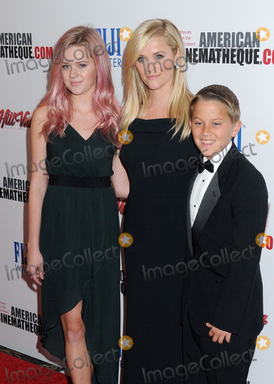 Ava Phillippe Photo - 30 October 2015 - Century City California - Ava Phillippe Reese Witherspoon Deacon Phillippe 29th American Cinematheque Award Honoring Reese Witherspoon held at the Hyatt Regency Century Plaza Hotel Photo Credit Byron PurvisAdMedia