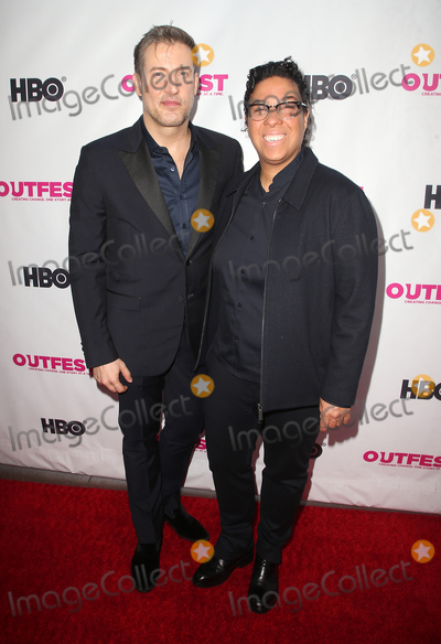Angela Robinson Photo - 12 July 2018 - Los Angeles California - Christopher Racster Angela Robinson  2018 Outfest Los Angeles LGBT Film Festival Opening Night Gala of STUDIO 54 at the Orpheum Theatre Photo Credit F SadouAdMedia
