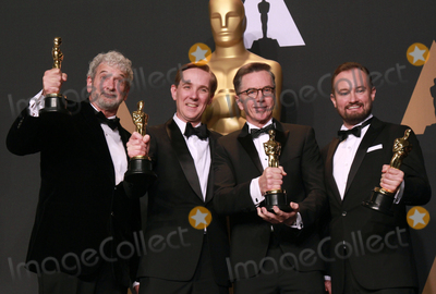Andy Wright Photo - 26 February 2017 - Kevin OConnell Andy Wright Robert Mackenzie Peter Grace 89th Annual Academy Awards presented by the Academy of Motion Picture Arts and Sciences held at Hollywood  Highland Center Photo Credit Theresa ShirriffAdMedia