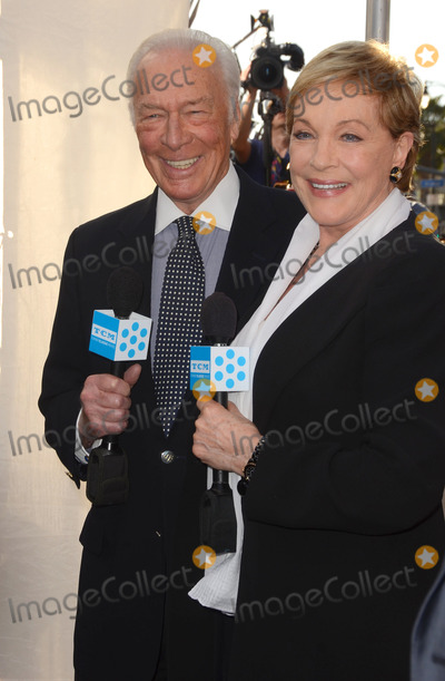 Julie Andrews Photo - 26 March 2015 - Hollywood California - Christopher Plummer Julie Andrews Arrivals for the 50th Anniversary Screening of The Sound of Music presented by tas the opening night gala of the 2015 TCM Classic Film Festival held at TCL Chinese Theatre Photo Credit Birdie ThompsonAdMedia