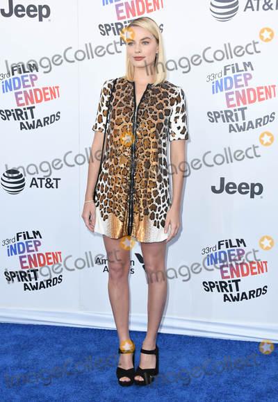 Margot Robbie Photo - 03 March 2018 - Santa Monica California - Margot Robbie 2018 Film Independent Spirit Awards -Arrivals held at the Santa Monica Pier Photo Credit Birdie ThompsonAdMedia