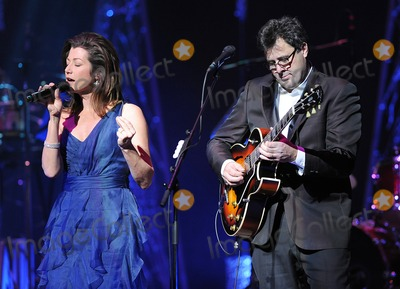 Amy Grant Photo - 14 December 2010 - Durham North Carolina - Singer Amy Grant and Musician Vince Gill performs as their 2010 Christmas Tour makes a stop at Durham Performing Arts Center Photo MooseAdMedia