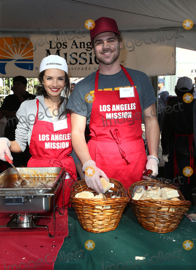 Alice Greczyn Photo - 22 December 2017 - Los Angeles California - Alice Greczyn Grey Damon 2017 Los Angeles Mission Christmas Meal for the Homeless Photo Credit F SadouAdMedia