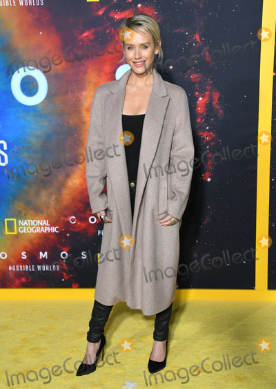 Nicky Whelan Photo - 26 February 2020 - Los Angeles California - Nicky Whelan National Geographics Cosmos Possible World Los Angeles Premiere held at UCLA Royce Hall Photo Credit Birdie ThompsonAdMedia