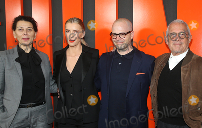 Betty Gilpin Photo - 9 March 2020 - Hollywood California - Donna Langley Betty Gilpin Damon Lindelof Ronald Meyer Premiere Of Universal Pictures The Hunt held at ArcLight Cinemas Photo Credit FSAdMedia