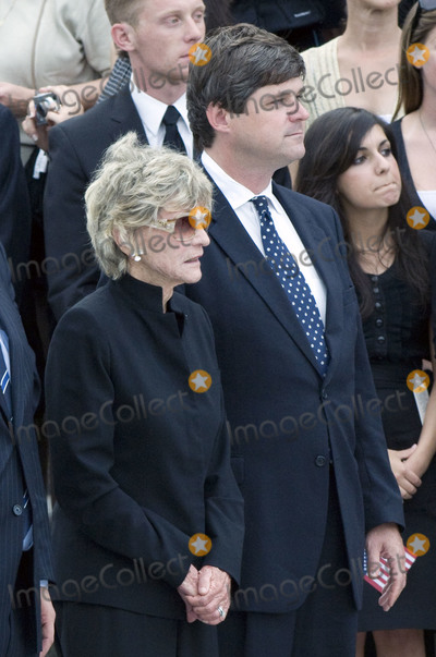 Jean Kennedy Photo - Washington DC - August 29 2009 -- Jean Kennedy Smith the last surviving sibling of former US Senator Edward M Ted Kennedy (Democrat of Massachusetts) left and her son William Kennedy Smith right at the ceremony at the US Capitol on Saturday August 29 2009Credit Ron Sachs  CNP(RESTRICTION NO New York or New Jersey Newspapers or newspapers within a 75 mile radius of New York City)AdMedia