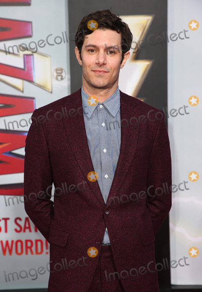 Adam Brody Photo - 28 March 2019 - Hollywood California - Adam Brody Warner Bros Pictures and New Line Cinema World Premiere of SHAZAM held at TCL Chinese Theatre Photo Credit Faye SadouAdMedia