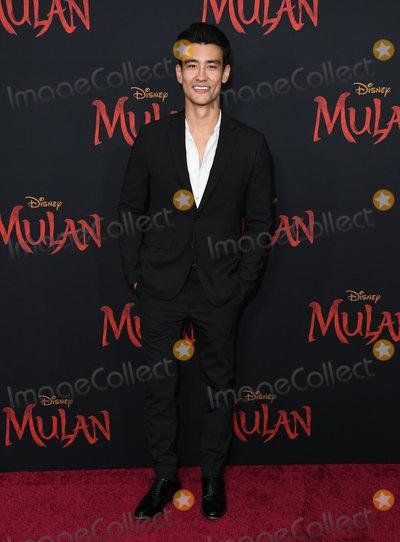 Alex Landi Photo - 09 March 2020 - Hollywood California - Alex Landi Disneys Mulan Los Angeles Premiere held at Dolby Theater Photo Credit Birdie ThompsonAdMedia