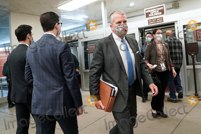 alaska Photo - Sen Dan Sullivan (R-Alaska) arrives at the Capitol on Wednesday February 10 2021 for the second day of the impeachment trial of former President Donald TrumpCredit Greg Nash - Pool via CNPAdMedia