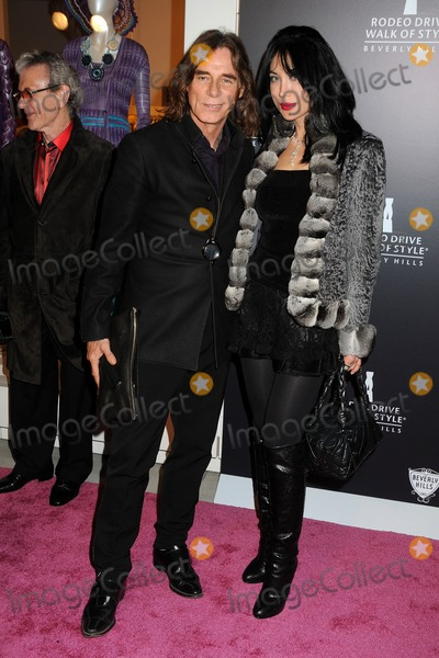 Demet Oger Photo - 23 October 2011 - Los Angeles California - George Blodwell and Demet Oger Rodeo Drive Walk of Style Award 2011 held at Missoni Photo Credit Byron PurvisAdMedia