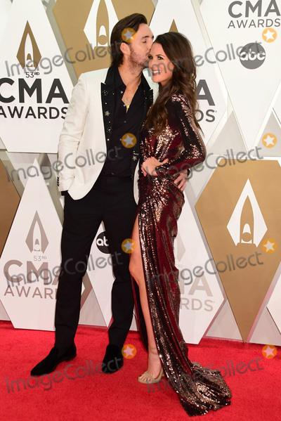 CMA Award Photo - 13 November 2019 - Nashville Tennessee - Jake Owen Erica Hartlein 53rd Annual CMA Awards Country Musics Biggest Night held at Music City Center Photo Credit Laura FarrAdMedia