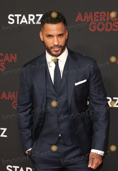 Ricky Whittle Photo - 5 March 2019 - Los Angeles California - Ricky Whittle The Premiere Of STARZs American Gods Season 2 held at Ace Hotel Theatre Photo Credit Faye SadouAdMedia