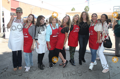 Angelica Vale Photo - 06 September 2018-  Hollywood California - Leron Gubler Kate Linder Amy Aquino Anglica Mara Erin Murphy Ellen K Angelica Vale Catherine Bach Anne-Marie Johnson Captain Cory Palka At Hollywood Chamber Of Commerces 24th Annual Police and Firefighter appreciation Day held at LAPD Hollywood Division Photo Credit Faye SadouAdMedia