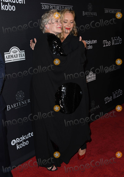 Annie Starke Photo - 23 July 2018 - West Hollywood  California - Glenn Close Annie Starke The Wife Los Angeles Premiere held at the Pacific Design Center Silverscreen Theater Photo Credit Birdie ThompsonAdMedia
