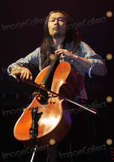 Avett Brothers Photo - 27 May 2011 - Pittsburgh PA - Cello player JOE KWON of the band THE AVETT BROTHERS performs to a Sold Out crowd at a stop on their Summer Camp 2011 Tour held at Stage AE  Photo Credit Jason L NelsonAdMedia