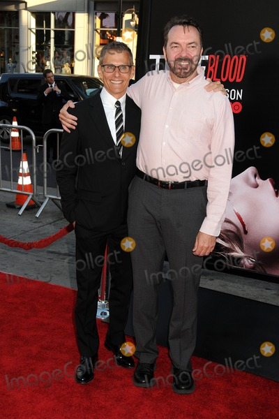 Alan Ball Photo - 17 June 2014 - Hollywood California - Michael Lombardo Alan Ball True Blood Final Season Premiere held at the TCL Chinese Theatre Photo Credit Byron PurvisAdMedia