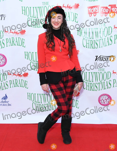 Amber Martinez Photo - 01 December 2019 - Hollywood California - Amber Martinez The 88th Annual Hollywood Christmas Parade  held at Hollywood Blvd Photo Credit Birdie ThompsonAdMedia