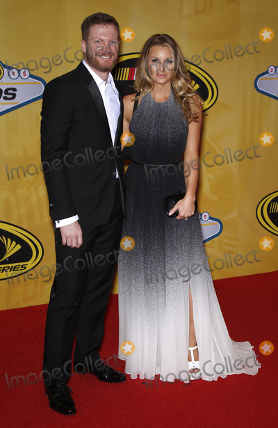 Dale Earnhardt Jr Photo - 04 December 2015 - Las Vegas Nevada - Dale Earnhardt Jr Amy Reimann 2015 NASCAR Sprint Cup Series Awards at The Wynn Las Vegas  Photo Credit MJTAdMedia