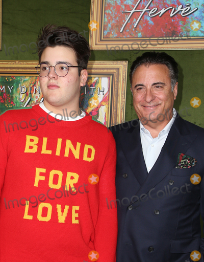 Andy Garcia Photo - 4 October 2018-  Hollywood California - Andy Garcia Andres Garcia-Lorido HBO Films My Dinner With Herve Premiere held at Paramount Studios Photo Credit Faye SadouAdMedia