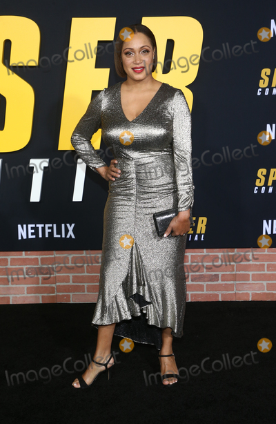 Ayana Brown Photo - 27 February 2020 - Westwood California - Ayana Brown Netflix Premiere Spenser Confidential held at the Regency Village Theatre Photo Credit FSAdMedia