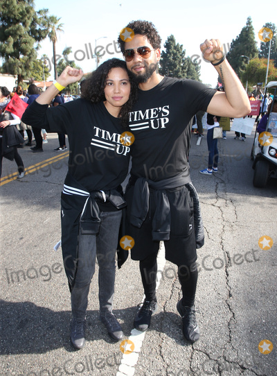 Martin Luther Photo - 15 January 2018 - Los Angeles California - Jussie Smollett Jurnee Smollett-Bell Martin Luther King Jr Kingdom Day Parade  VIP Breakfast Photo Credit F SadouAdMedia
