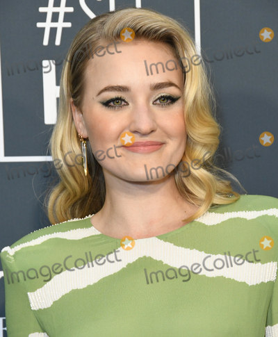 AJ Michalka Photo - 12 January 2020 - Santa Monica California - AJ Michalka 25th Annual Criticis Choice Awards - Arrivals held at Barker Hangar Photo Credit Birdie ThompsonAdMedia
