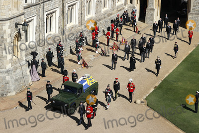 Prince Edward Photo - Photo Must Be Credited Alpha Press 073074 17042021Princess Anne Princess Royal Prince Charles Prince of Wales Prince Andrew Duke of York Prince Edward Earl of Wessex Prince William Duke of Cambridge Peter Phillips Prince Harry Duke of Sussex Lord Viscount Linley Earl of Snowdon David Armstrong-Jones Viscount Lord David Linley and Vice-Admiral Sir Timothy Laurence follow Prince Philip Duke of Edinburghs coffin on a modified Jaguar Land Rover during the funeral of Prince Philip Duke of Edinburgh at St Georges Chapel in Windsor Castle in Windsor Berkshire No UK Rights Until 28 Days from Picture Shot Date AdMedia
