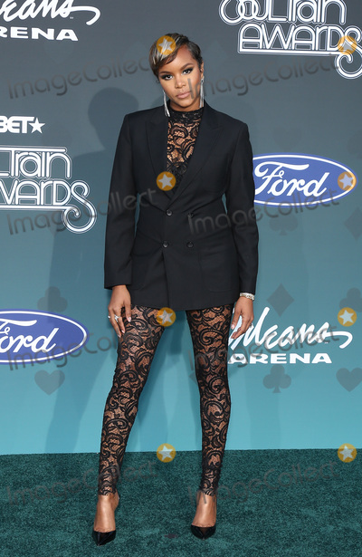 Toya Photo - 17 November 2019 - Las Vegas NV - LeToya Luckett 2019 Soul Train Awards Red Carpet Arrivals at Orleans Arena Photo Credit MJTAdMedia