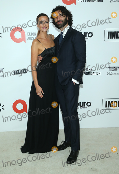 Justin Baldoni Photo - 09 February 2020 - West Hollywood California - Emily Baldoni Justin Baldoni 28th Annual Elton John Academy Awards Viewing Party held at West Hollywood Park Photo Credit FSAdMedia