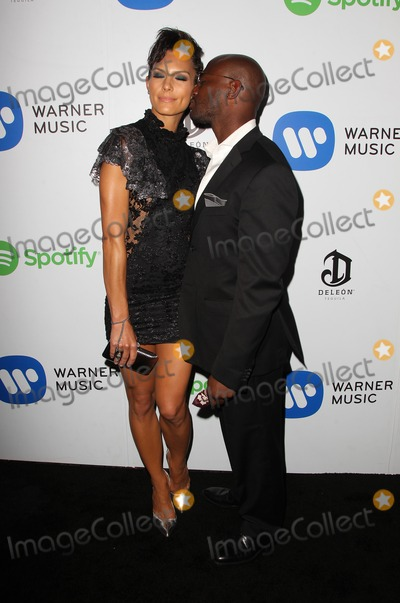 Amanza Smith Photo - 08 February 2015 - West Hollywood Amanza Smith Brown Taye Diggs Warner Music Group Annual GRAMMY Celebration Held at Chateau Marmont Photo Credit FSadouAdMedia