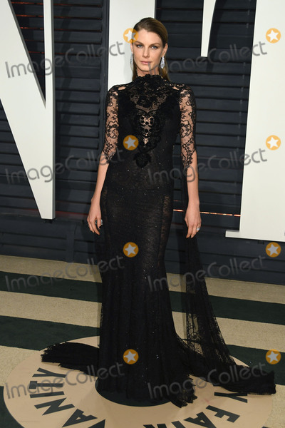 Angela Lindvall Photo - 26 February 2017 - Beverly Hills California - Angela Lindvall 2017 Vanity Fair Oscar Party held at the Wallis Annenberg Center Photo Credit Byron PurvisAdMedia