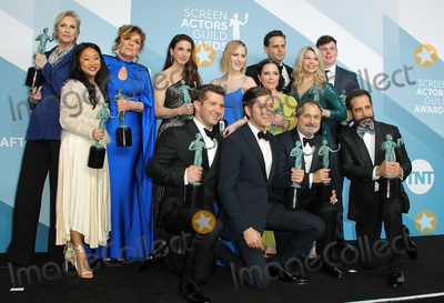 Kevin Pollak Photo - 19 January 2020 - Los Angeles California - Caroline Aaron Jane Lynch Stephanie Hsu Marin Hinkle Rachel Brosnahan Alex Borstein and Matilda Szydagis Kevin Pollak Tony Shalhoub Michael Zegen Luke Kirby The Marvelous Mrs Maisel Cast 26th Annual Screen Actors Guild Awards held at The Shrine Auditorium Photo Credit AdMedia