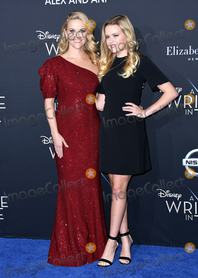 Ava Phillippe Photo - 26 February 2018 - Hollywood California - Reese Witherspoon Ava Phillippe Disneys A Wrinkle In Time World Premiere held at El Capitan Theatre Photo Credit Birdie ThompsonAdMedia