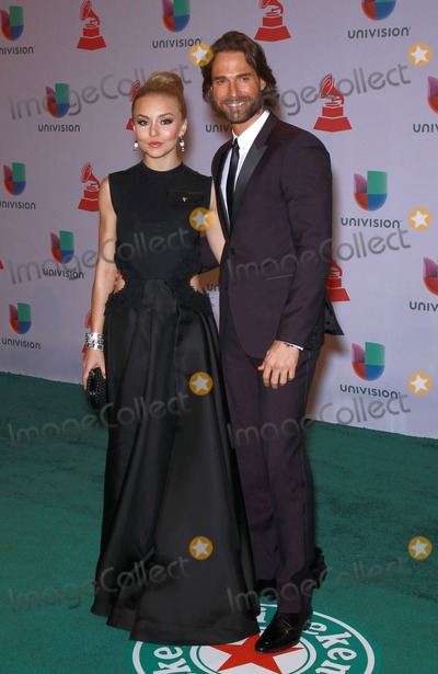 Angelique Boyer Photo - 20 November 2014 - Las Vegas Nevada -  Angelique Boyer Sebastian Rulli  15th Annual Latin Grammy Arrivals at MGM Grand Garden Arena  Photo Credit MJTAdMedia