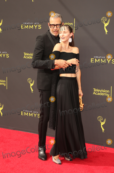 Jeff Goldblum Photo - 14 September 2019 - Los Angeles California - Jeff Goldblum Emilie Livingston 2019 Creative Arts Emmy Awards held at Microsoft Theater Photo Credit FSadouAdMedia
