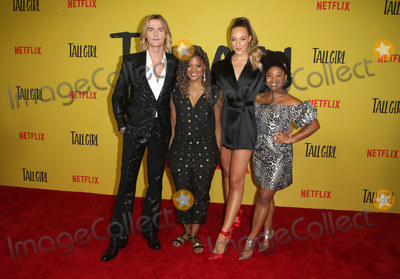 Anjelika Washington Photo - 9 September 2019 - Los Angeles California - Luke Eisner Nia Sioux Ava Michelle Anjelika Washington Premiere Of Netflixs Tall Girl held at Netflix Home Theater Photo Credit FSadouAdMedia