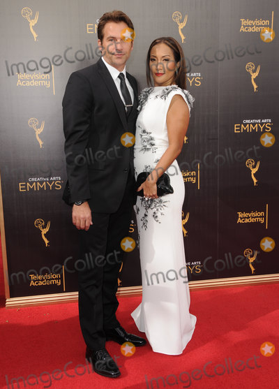 Robb Derringer Photo - 11 September 2016 - Los Angeles California Robb Derringer Carrie Anne Inaba 2016 Creative Arts Emmy Awards - Day 2 held at Microsoft Theater Photo Credit Birdie ThompsonAdMedia