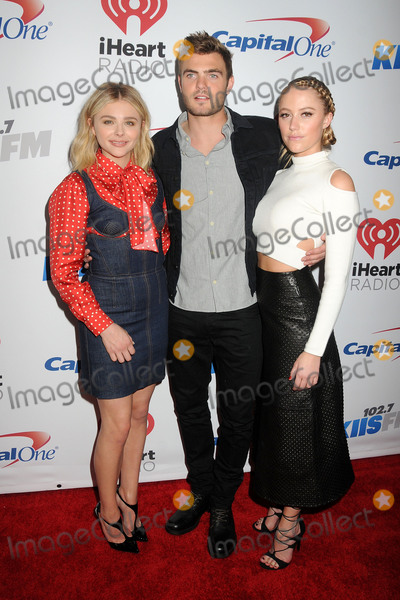 Alex Roe Photo - 4 December 2015 - Los Angeles California - Chloe Grace Moretz Alex Roe Maika Monroe 1027 KIIS FMs Jingle Ball - Arrivals held at The Staples Center Photo Credit Byron PurvisAdMedia