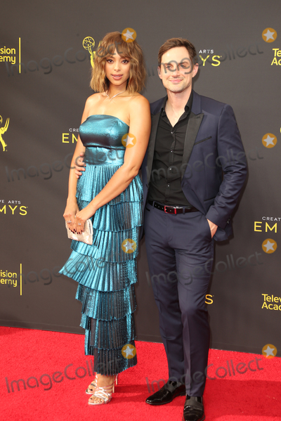 Amber Stevens-West Photo - 14 September 2019 - Los Angeles California - Amber Stevens West Andrew J West 2019 Creative Arts Emmy Awards held at Microsoft Theater Photo Credit FSadouAdMedia