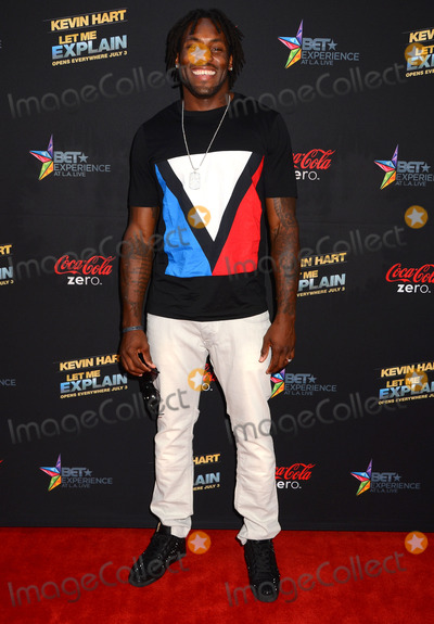 Antonio Cromartie Photo - 27 June 2013 - Los Angeles Ca - Antonio Cromartie Los Angeles premiere of Kevin Hart Let Me Explain at Regal LA Live Stadium 14 in Los Angeles Ca Photo Credit BirdieThompsonAdMedia