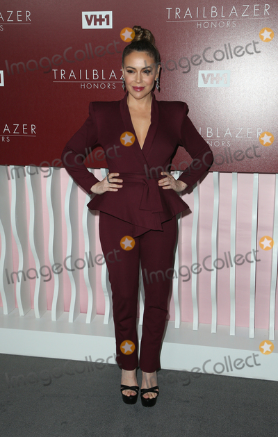 Alyssa Milano Photo - 20 February 2019 - Los Angeles California - Alyssa Milano the 2019 Vh1 Trailblazer Honors held at The Wilshire Ebell Theatre Photo Credit Faye SadouAdMedia
