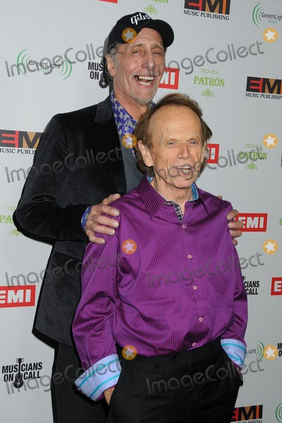 Al Jardine Photo - 12 February 2012 - Hollywood California - David Marks Al Jardine The Beach Boys EMI Music 2012 Grammy Awards Party held at Capital Records Tower Photo Credit Byron PurvisAdMedia