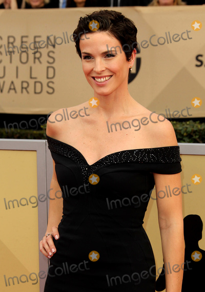 Chantal Cousineau Photo - 21 January 2018 - Los Angeles California - Chantal Cousineau 24th Annual Screen Actors Guild Awards Arrivals held at the Shrine Auditorium in Los Angeles Photo Credit AdMedia