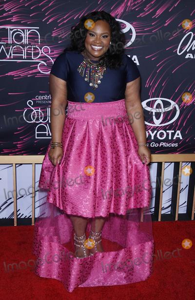 Tasha Cobbs Photo - 06 November 2015 - Las Vegas NV - Tasha Cobbs 2015 Soul Train Awards Arrivals at the Orleans Arena Photo Credit MJTAdMedia